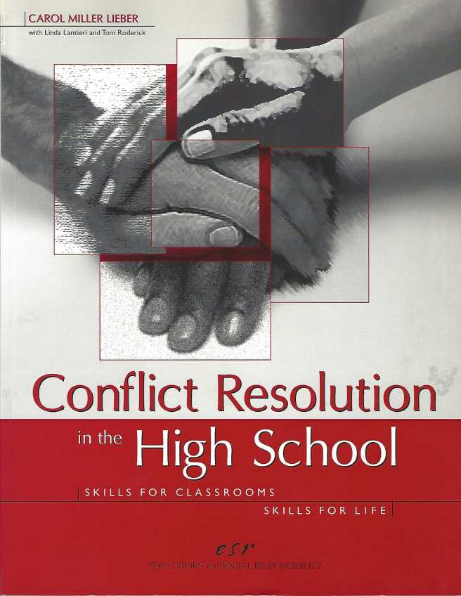Cover-Conflict Resolution in the High School-1